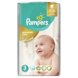 Подгузники Pampers Premium Care (от 4 до 9 ) 3 х 60