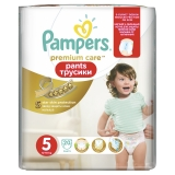 Трусики Pampers Premium Care №5  Junior 20