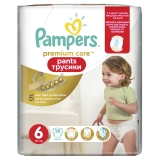 Трусики Pampers Premium Care №6 ExtraLarge 19 шт