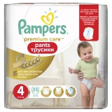 Трусики Pampers Premium Care Pants №4 Maxi 22