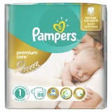 Подгузники Pampers Premium Care № 1 Newborn 88