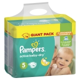 Подгузники Pampers Active Baby  №5 Junior 78 шт