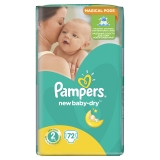 Подгузники Pampers New Baby Newborn №2 Pack 72 шт